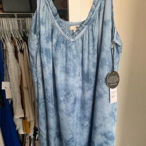 Amuse Society tie dye dress